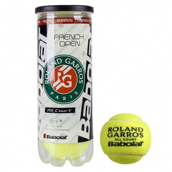 Мяч, French Open All Court, 501042, 3 шт/уп